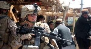 U.S. Marine Corps soldier