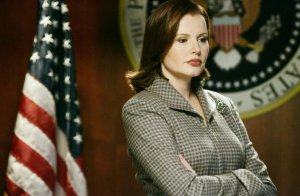 Geena Davis as Mackenzie Allen, President of the United States