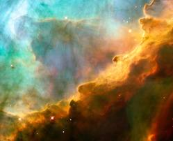 The cosmic celebration--courtesy of the Hubble telescope