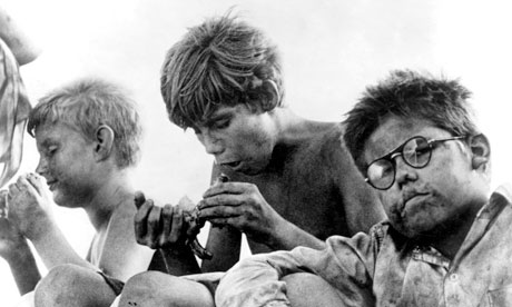 an analysis of lord of the flies and the american dream A list of all the characters in american dream the american dream characters covered include: grandma, mommy, daddy, the young man , mrs barker.