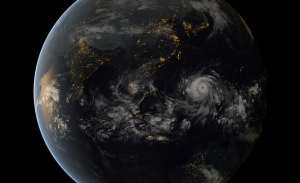 Super-typhoon Haiyan