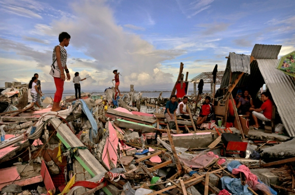 Aftermath of Typhoon Haiyan, Philippines, 2013