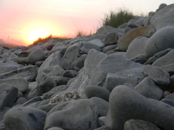 Sunset on Cherry Hill Beach, Nova Scotia.  Photo by Eric  B. Hernandez