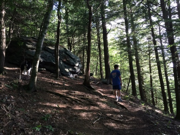 Eric in woods