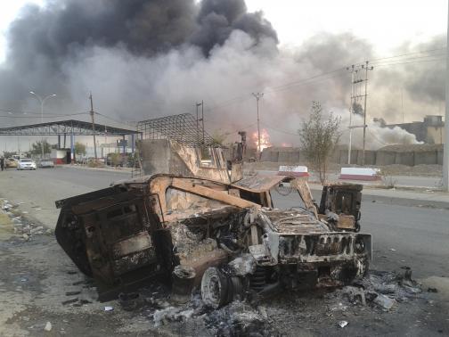 Reuters photo taken June 11, 2014 in Mosul, Iraq