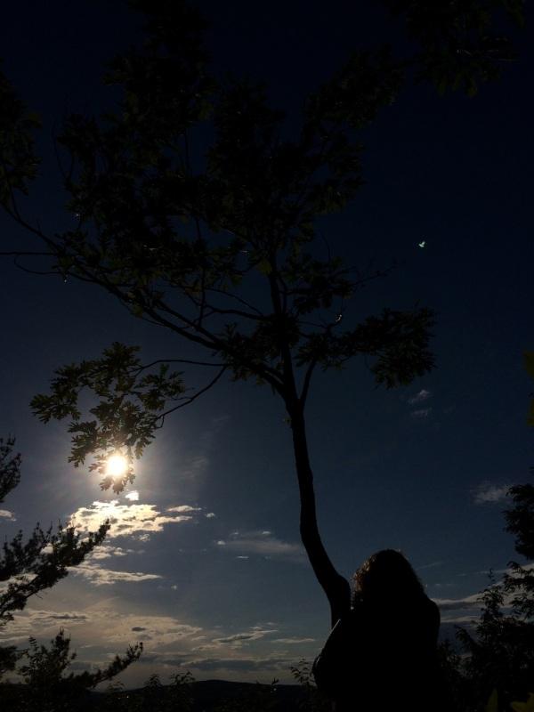 solstice sunset dark