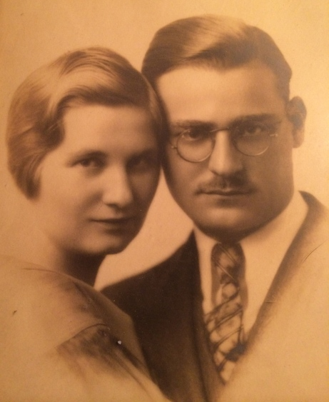 Fannie Ashe Browdy and Philip Browdy, my paternal grandparents, around the time of their marriage.
